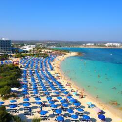 Asterias Beach Hotel Beach