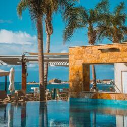 Alexander The Great Beach Hotel Infinitypool